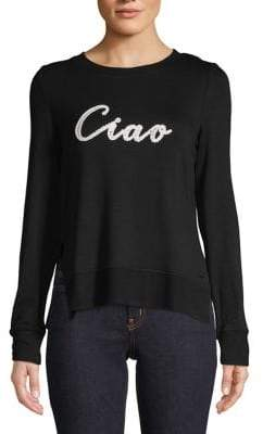 Andrew Marc Performance Ciao Long Sleeve Tee