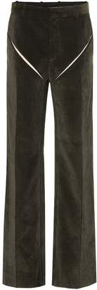Y/Project High-rise wide-leg corduroy pants