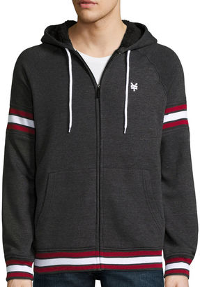 Zoo York Inset Sherpa Long-Sleeve Hooded Jacket $70 thestylecure.com