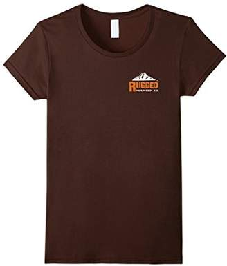 Co Authentic Rugged Mountain Logo T-Shirt