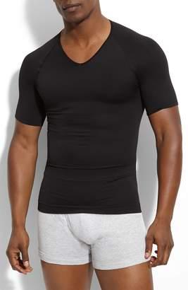 Spanx R) 'Zoned Performance' V-Neck T-Shirt