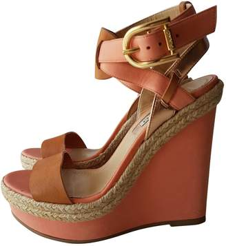Pinko Leather Heels