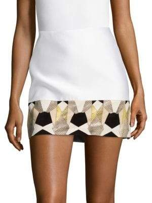 Versace Gonna Tessuto Mini Skirt