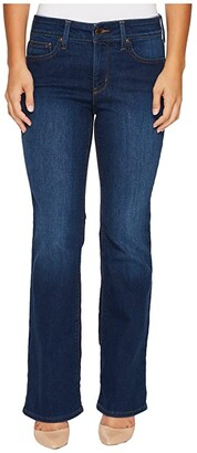 NYDJ Petite Petite Barbara Bootcut Jeans in Cooper