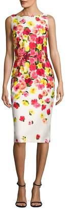 David Meister Women's Floral Printed Dress