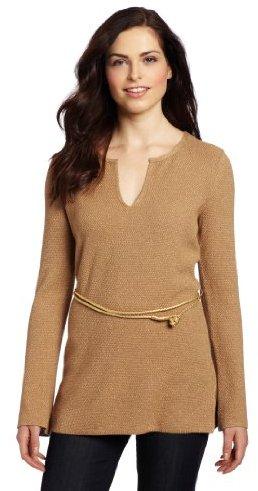 Anne Klein Women's Pullover With Belt