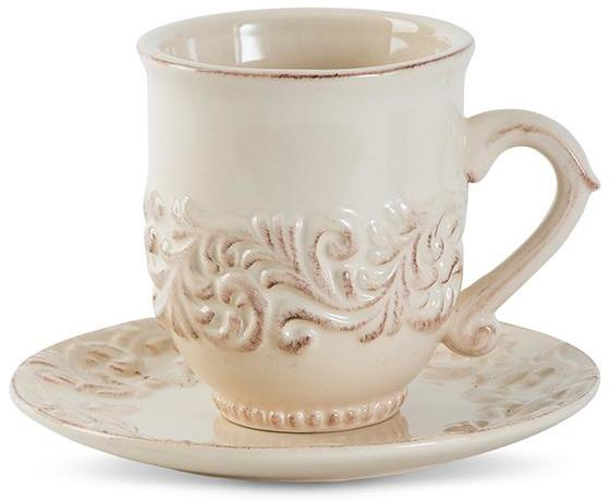 GG Acanthus Leaf Cup and Saucer Set