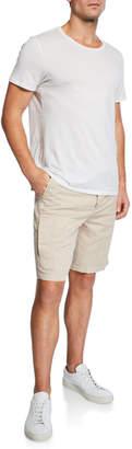 Brunello Cucinelli Men's Linen/Cotton Bermuda Shorts