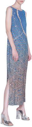Akris Punto Viscose Blend Maxi Dress