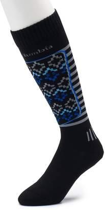 Columbia Men's Fairisle Over-The-Calf Ski Socks