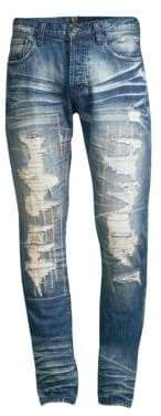PRPS Le Sabre Cooing Destroyed Jeans