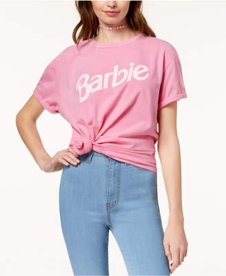 80886f2dcd1 Barbie X Love Tribe Juniors  Logo Graphic T-Shirt