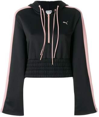 Puma zipped neck hoodie
