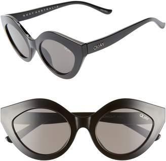 Quay Goodnight Kiss Cat Eye Sunglasses
