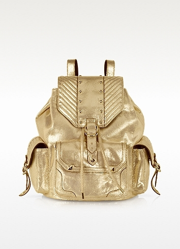 Juicy Couture Embellished Leather Cargo Backpack
