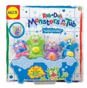 Alex Rub a Dub Monsters in My Tub