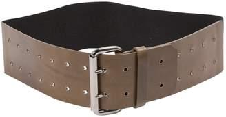 Maison Margiela Khaki Leather Belts