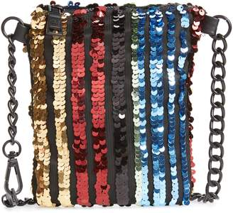 Steve Madden Sequin Chain Belt Bag