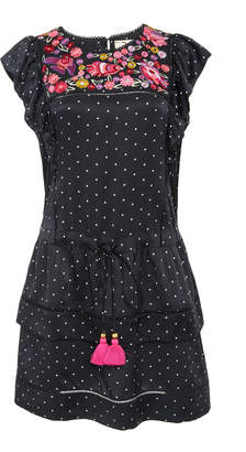 Figue Theresa Mini Polka Dot Dress