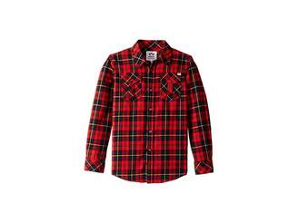 Appaman Kids Extra Soft Flannel Shirt with Elbow Detail (Toddler/Little Kids/Big Kids)