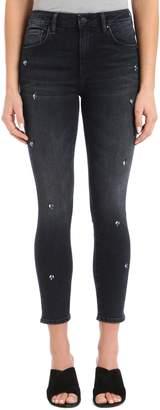 Mavi Jeans Tess Crystal Embellished Super Skinny Jeans