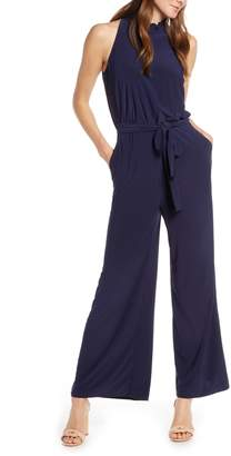 Vince Camuto Ruffle Collar Jumpsuit