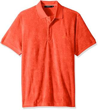 Bugatchi Men's Cotton Tapered Fit Deangelo Knit Polo