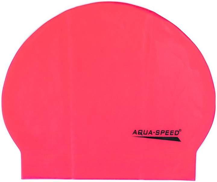 Aquaspeed Mono - 2-er Set Badekappen - rosa