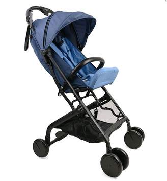 Asenart ® Single Hand Folding Lightweight and Compact Stroller Three Foldable Puchchair with 5-Point Safety System