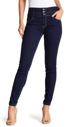 YMI Jeanswear Jeans 3-Button Hi-Rise Skinny Jeans (Juniors)
