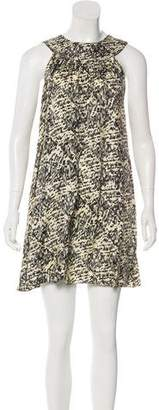Jenni Kayne Silk Sleeveless Mini Dress