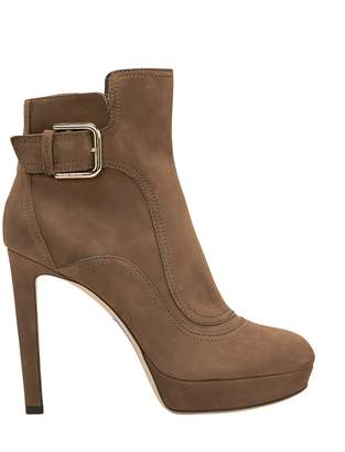 Jimmy Choo Britney Brown Suede Boots