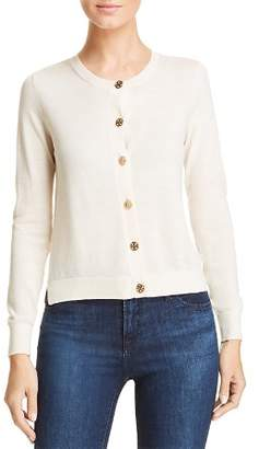 Tory Burch Logo Button Cardigan