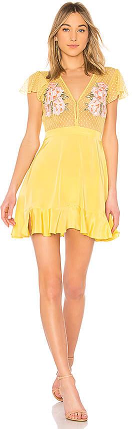 X ROCKY BARNES Cooper Short Dress