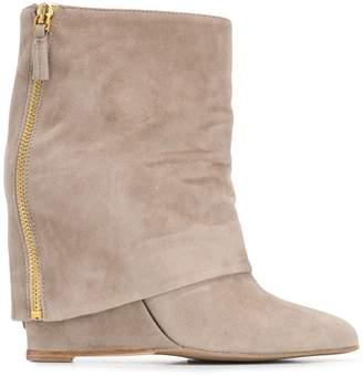The Seller foldover flap boot