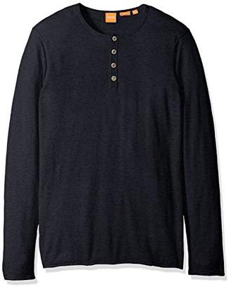 BOSS ORANGE Men's Koastles Henley Sweater