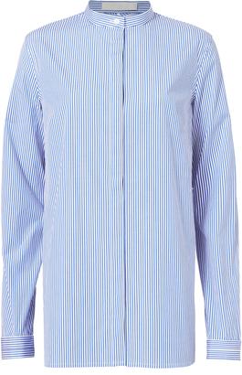 Dion Lee Teardrop Back Poplin Shirt Stripe 8