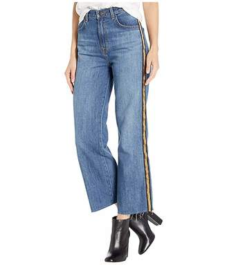 J Brand Joan High-Rise Crop in Quinessential
