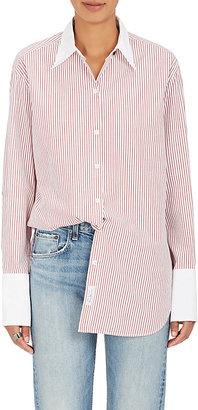 Rag & Bone Women's Essex Cotton-Silk Blouse $295 thestylecure.com
