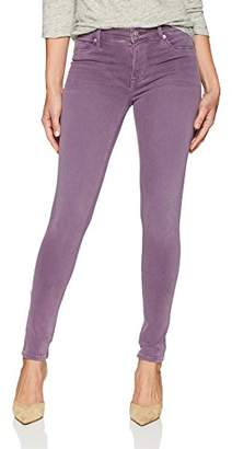 Hudson Jeans Women's NICO Midrise Ankle RAW Hem Super Skinny 5 Pocket