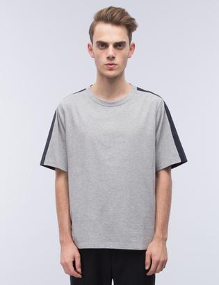 Marni Multi Fabric Two Tone S/S T-Shirt $230 thestylecure.com