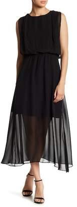 Gilli Illusion Hem Midi Dress