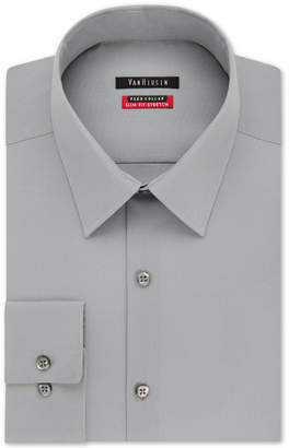 Van Heusen Men Slim-Fit Flex Collar Stretch Solid Dress Shirt
