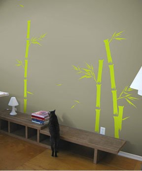 Blik Bamboo Wall Decal