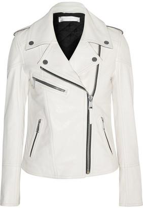 Victoria, Victoria Beckham - Leather Biker Jacket - White
