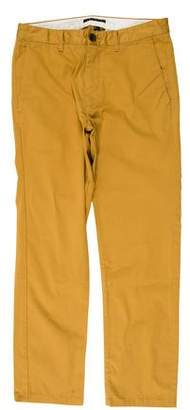 Theory Flat-Front 4-Pocket Pants