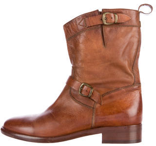 Belstaff Moto Ankle Boots w/ Tags $230 thestylecure.com