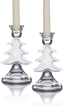 Celebrations By Mikasa® Set of 2 Tree Candlestick Holders