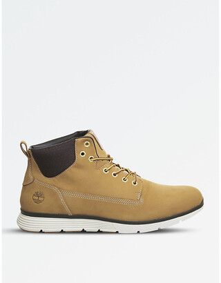 Timberland Beige Leather Shoes For Men ShopStyle UK
