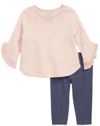 Splendid Bell Sleeve Top & Leggings Set